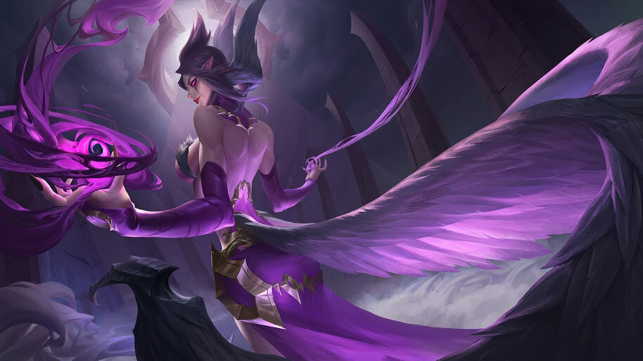 Morgana, LoL, Art, 4K, #7.2641