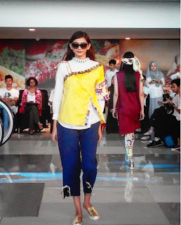 Fashion Show on Terminal 3 Bandara Soekarno Hatta