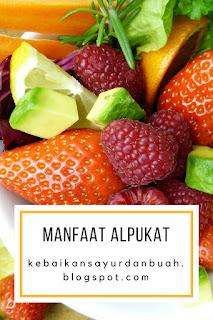alpukat diet buah