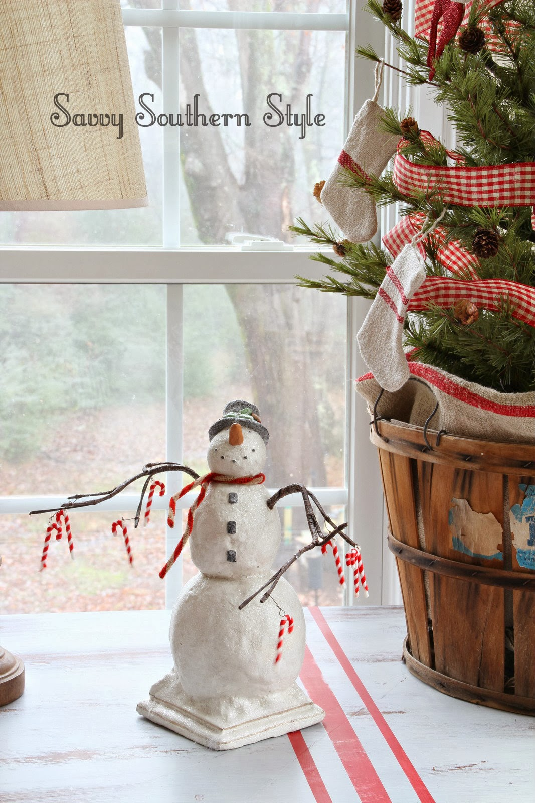 Savvy Southern Style Christmas In The Sunroom 2013