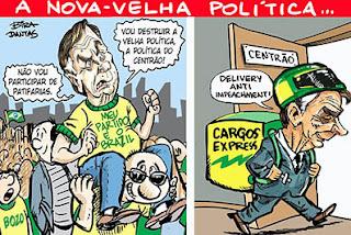 67% rejeitam caso de Bolsonaro com o Centrão