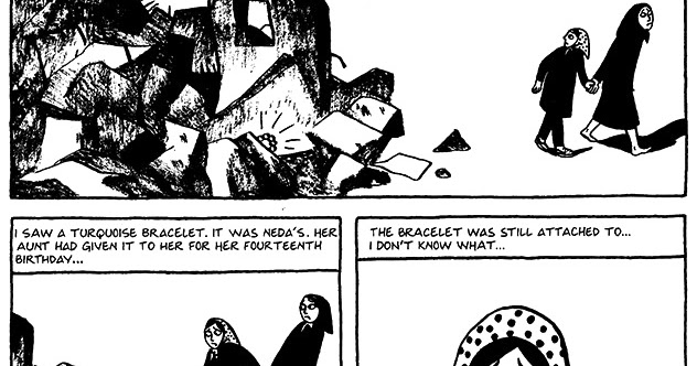 Read Persepolis 1 Section 18 The Shabbat Page 140