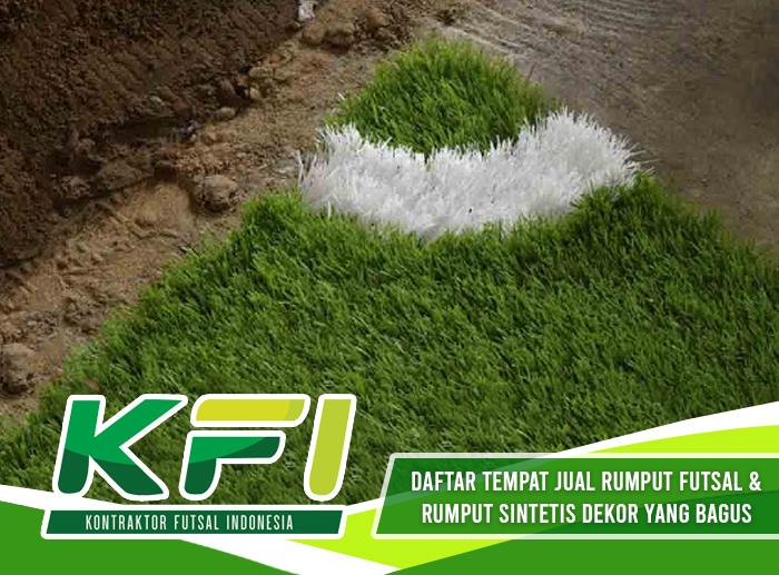 Daftar Tempat Jual Rumput Futsal