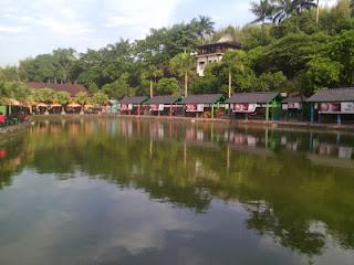 Pemandangan Tempat Wisata Tirta Nusantara
