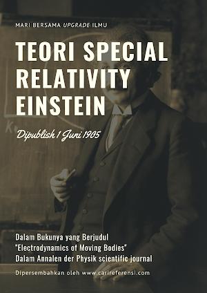 Teori Relativitas Khusus Einstein, Sudah Tau Sejarahnya? Intip Sini Yuk.