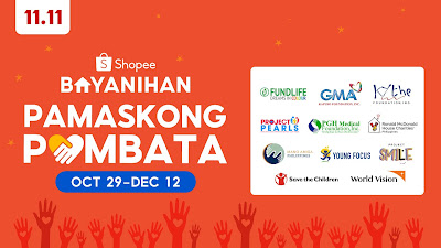Shopee announces Shopee Bayanihan: Pamaskong Pambata to create positive impact for underprivileged children