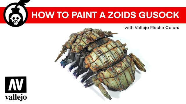 HOW to Paint A Zoids Gusock & HAPPY NEW YEAR photo