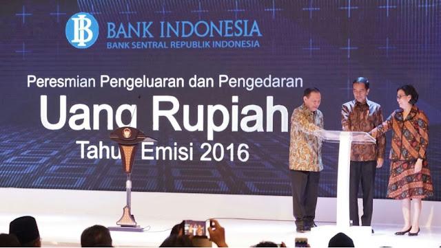 Wujud Baru Uang Rupiah Emisi 2016
