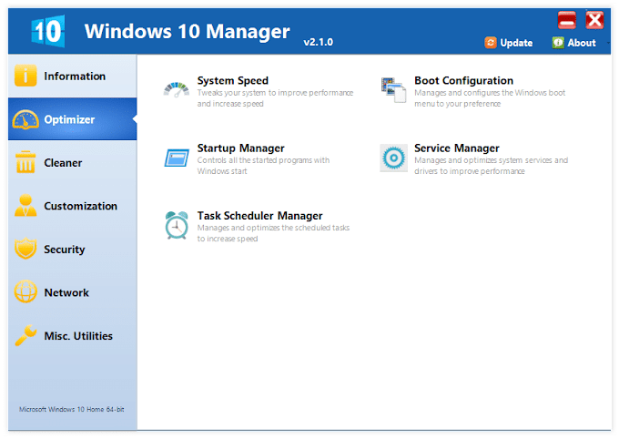 Yamicsoft Windows 10 Manager 3.3.5 Multilingual