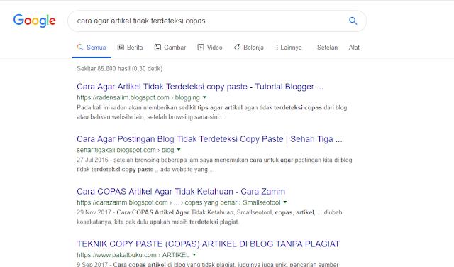 Manfaat Menghilangkan Tanggal postingan pada hasil pencarian Google