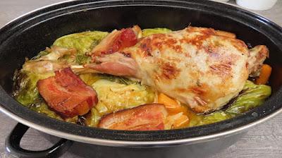 Recept za Ručak - Mladi Kupus s Janjetinom | Lunch Recipe - Lamb with Cabbage