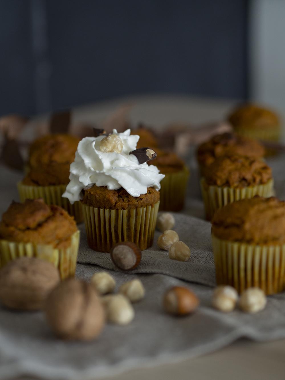 Muffins veganos de calabaza y avena_7
