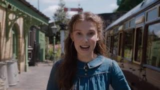 Enola Holmes movie trailer based on Nancy springer book