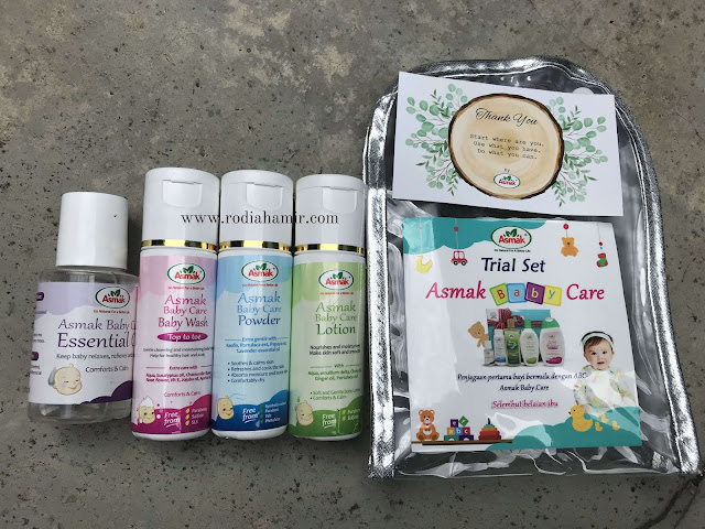Set Asmak Baby Care
