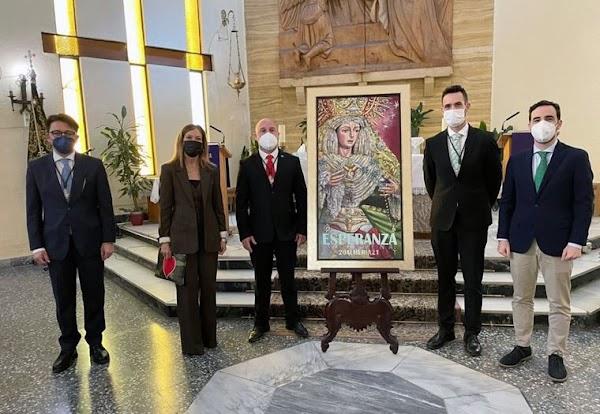 La Hermandad de la Macarena de Almería dedica su cartel de Semana Santa a los sanitarios