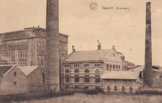 La brasserie Haacht sur une carte postale ancienne