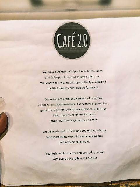 Food-ventures: Starting 2020 right with Cafe 2.0 | Healthy Vegan, Vegetarian, Paleo and Keto-friendly meals, Bulletproof Coffee, and more!