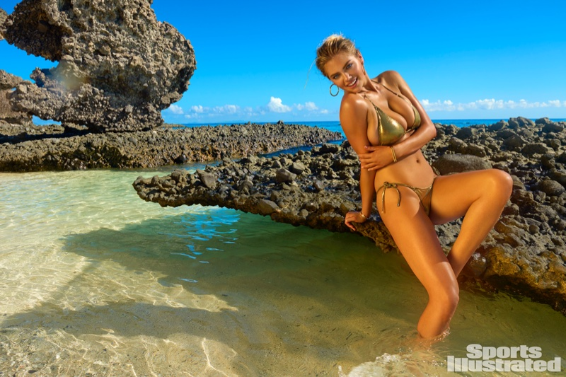 Kate Upton poses for Sports Illustrated Swimsuit Issue 2017