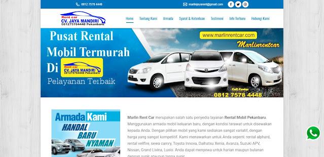 Rental Mobil Pekanbaru CV Jaya Mandiri Pekanbaru