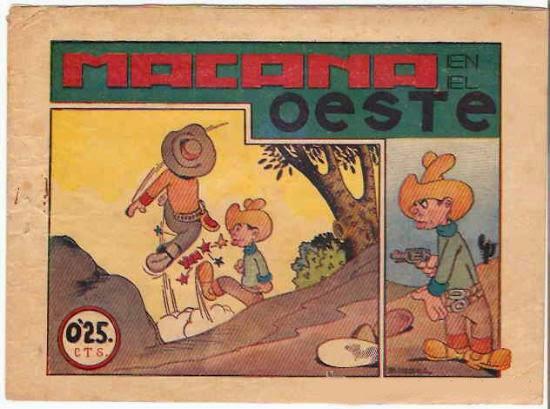 Macana en el oeste, editorial Hispanoamericana