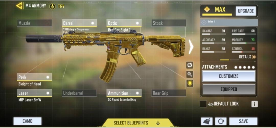My m4 gunsmith