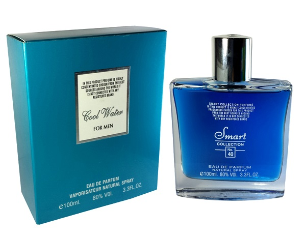 Smart Collection Cool Water 100 ml For Men No 40