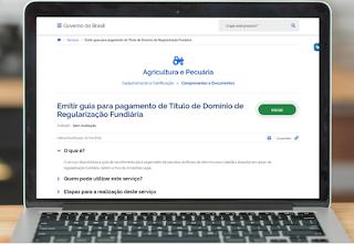 Agricultores podem emitir pela internet GRU de título de posse