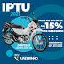 Contribuintes do IPTU em Juazeirinho irão concorrer a uma POP 110 0KM