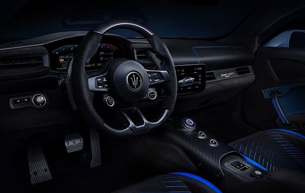 Interior Maserati MC20