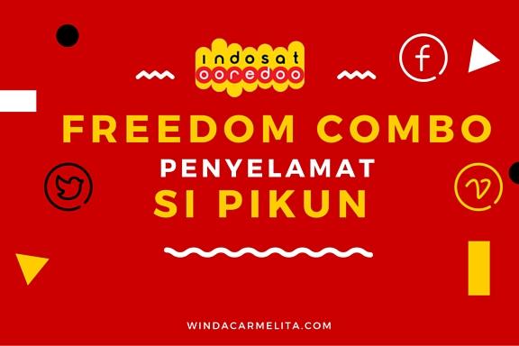 freedom combo paket indosat ooredoo