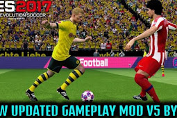New Updated Gameplay Patch V5 For - PES 2017