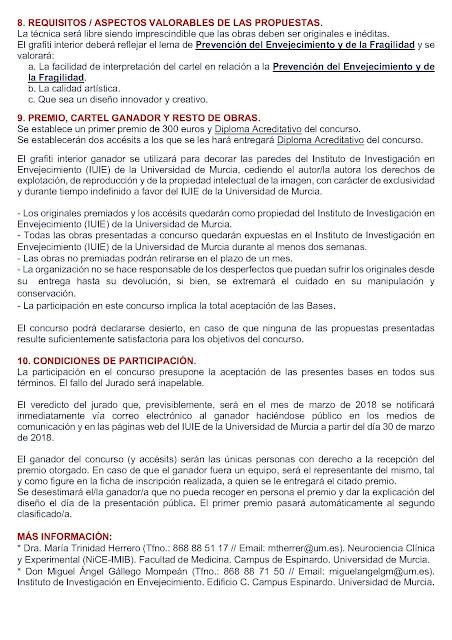Concurso de Grafiti Interior.