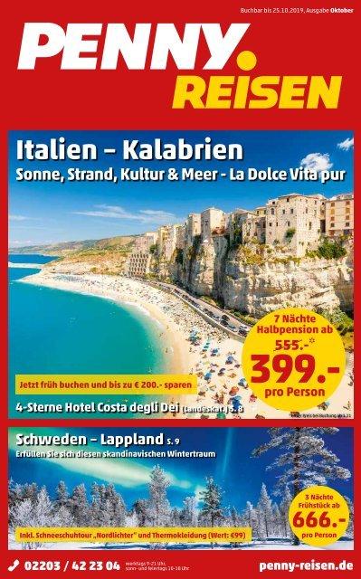 Topangebote: Kalabrien, Schweden Lappland, Österreich und Italien sowie viele weitere Highlights