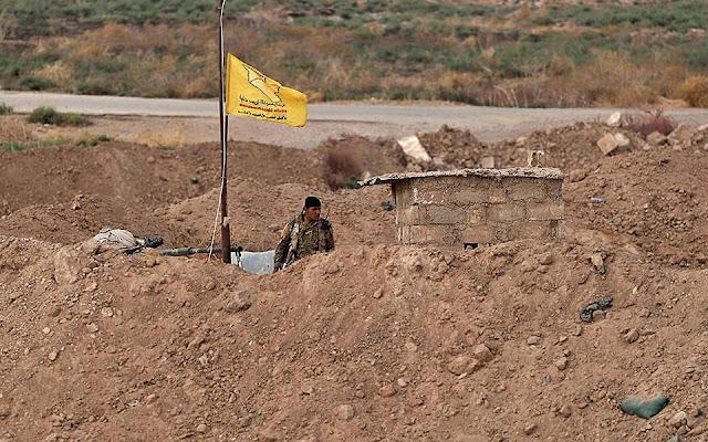 """Οι Κούρδοι """"παγώνουν"""" τις επιχειρήσεις εναντίον του ISIS"""