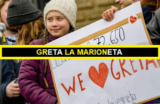 ⚠GrETA Thunberg: profETA o marionETA autista usada para adoctrinar masas hacia el cambio climático?. #Miedo #Rituales #Katecon2006 #FridaysForFuture