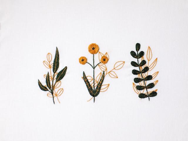 beginner embroidery pattern