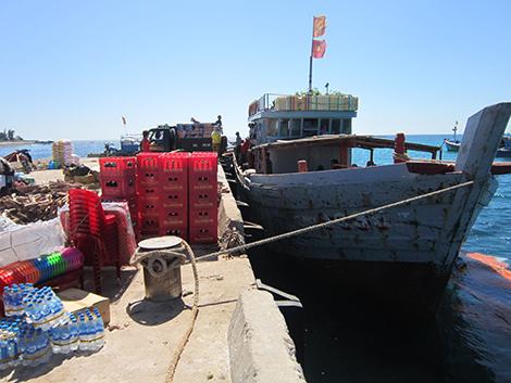 Lịch trình tàu cao tốc tuyến Sa Kỳ (Quảng Ngãi) - Đảo Lý Sơn - Tàu Gỗ