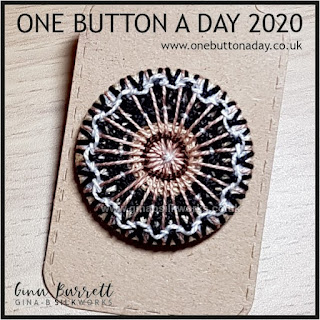 One Button a Day 2020 by Gina Barrett - Day 155 : Harmony