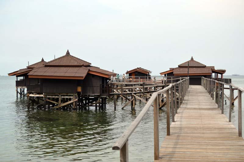 Fasilitas Wisata di Pulau Bidadari Jakarta