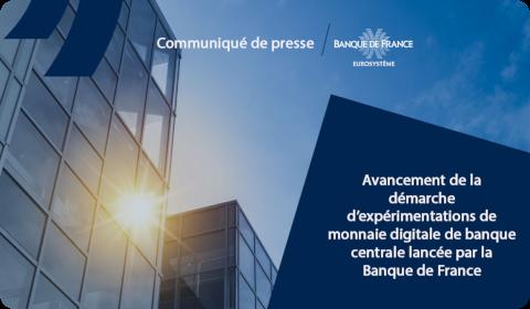 Communiqué de presse Banque de France