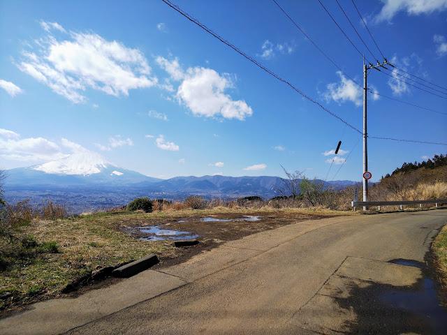 金太郎富士見ライン 富士山