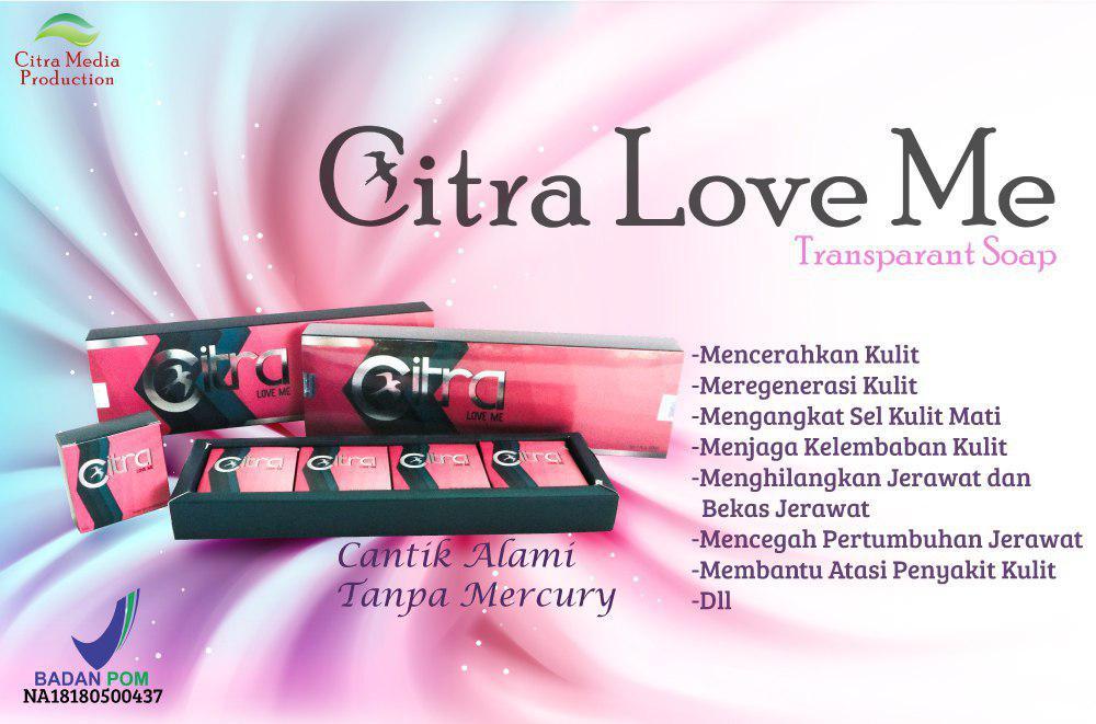 Sabun Citra Love Me
