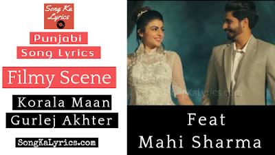 filmy-scene-lyrics