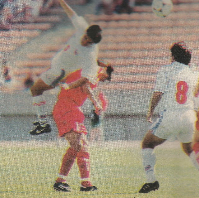 Canadá y Chile en Canada Cup, 28 de mayo de 1995