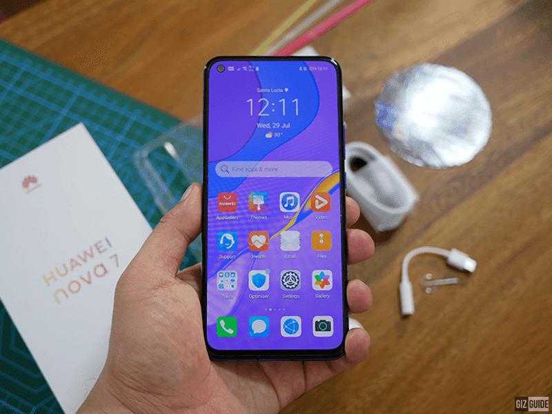 Huawei nova 7 5G front