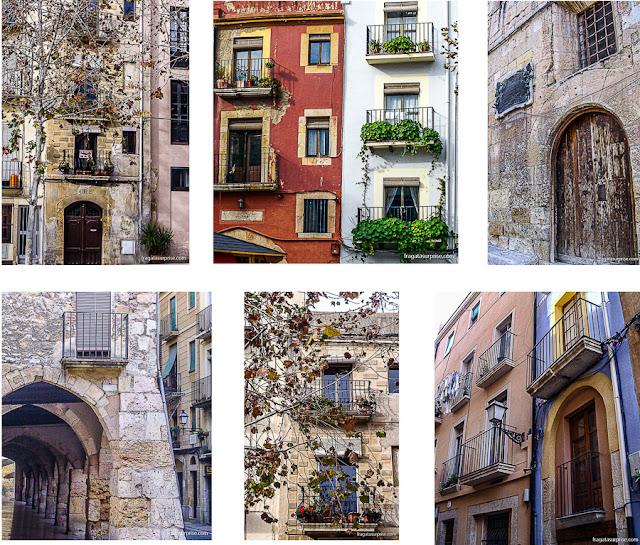 Ruas de Tarragona, Catalunha, Espanha