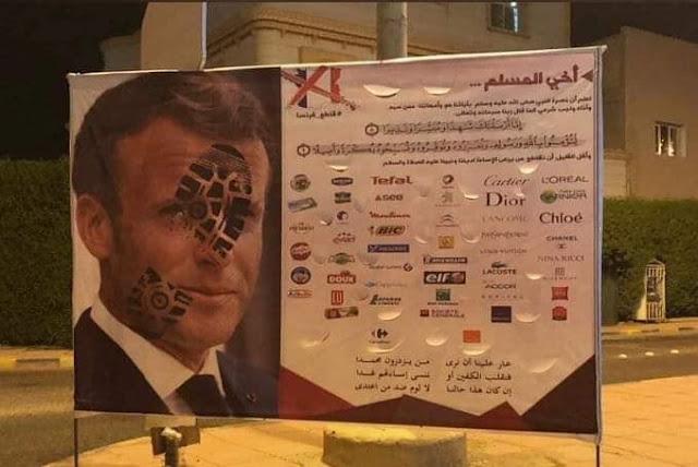 Akibat Hina Islam, Prancis Diboikot, Presidennya Sampai Kalang Kabut, Minta Seruan Dihentikan