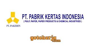 Lowongan Kerja PT Pabrik Kertas Indonesia