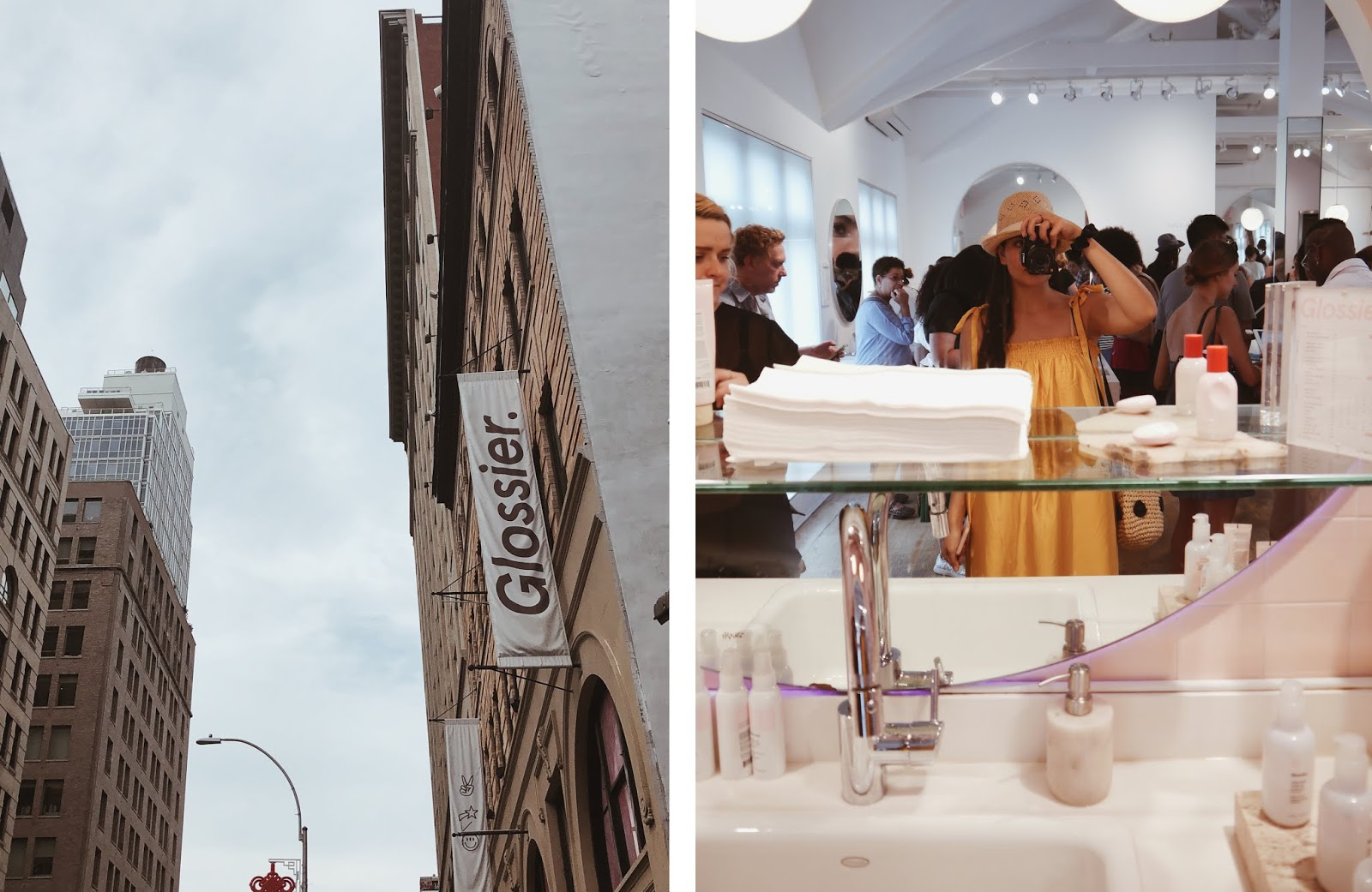 glossier showroom new york nyc noirette diary 2