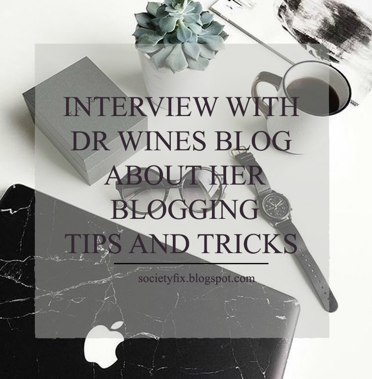 I am so happy today. Today is not just another blogging tips from me that I have got from my experience. Today, I am bringing another great blogger to tell us all about her experience in the blogging world, her inspiration and her advice to all of us. Today I will be interviewing Mallory from Dr. Wines Blog. But wait no, we won't have an interview, but we will be chatting together and I'll be knowing her better and you too guys.  Please make sure you go and check her blog www.drwinesblog.com to enjoy perfect fashionable wearable looks.